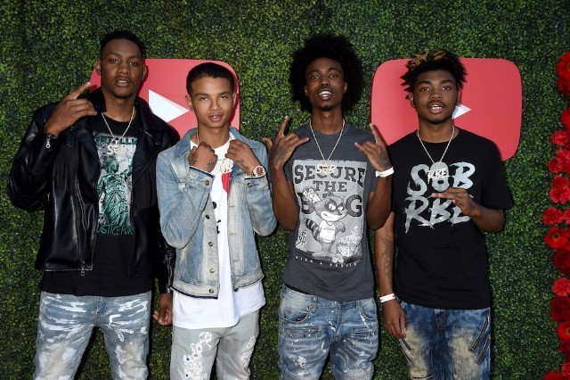 SOB x RBE family not a group
