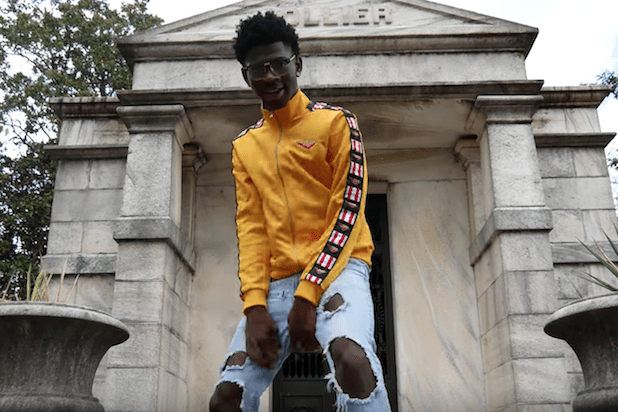Photo of Lil Nas X Unveils Artwork For His Debut Ep '7'