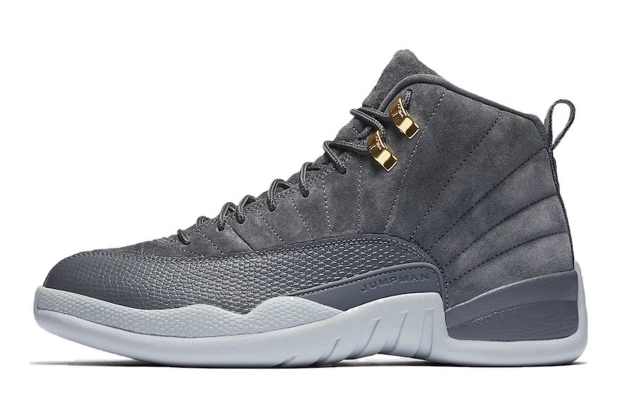 Photo of Take A Look At The New 'Dark Grey' Air Jordan 12'
