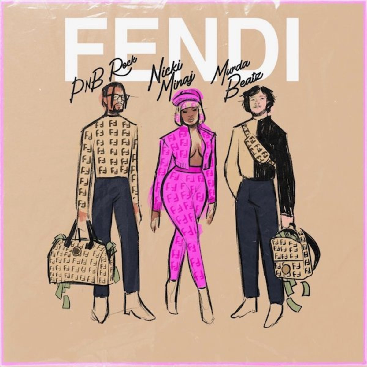Nicki Minaj Fendi