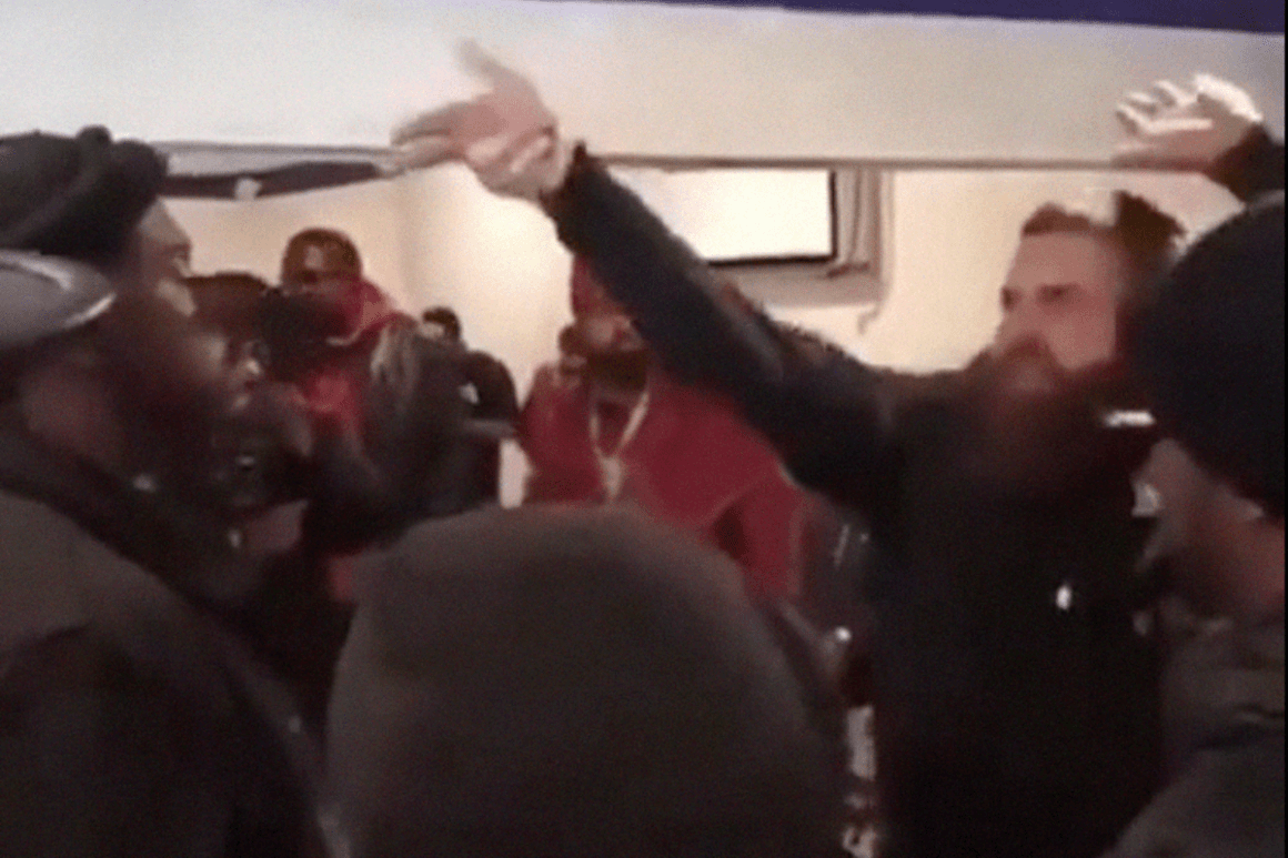 White rapper get punched for using the n word