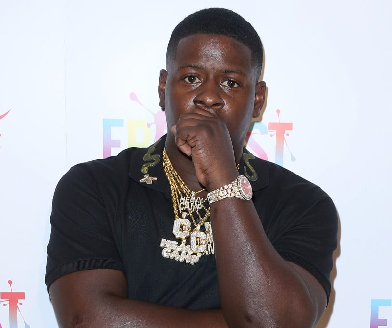 Photo of Blac Youngsta Pulls Out Gun Onstage During A Show In South Carolina