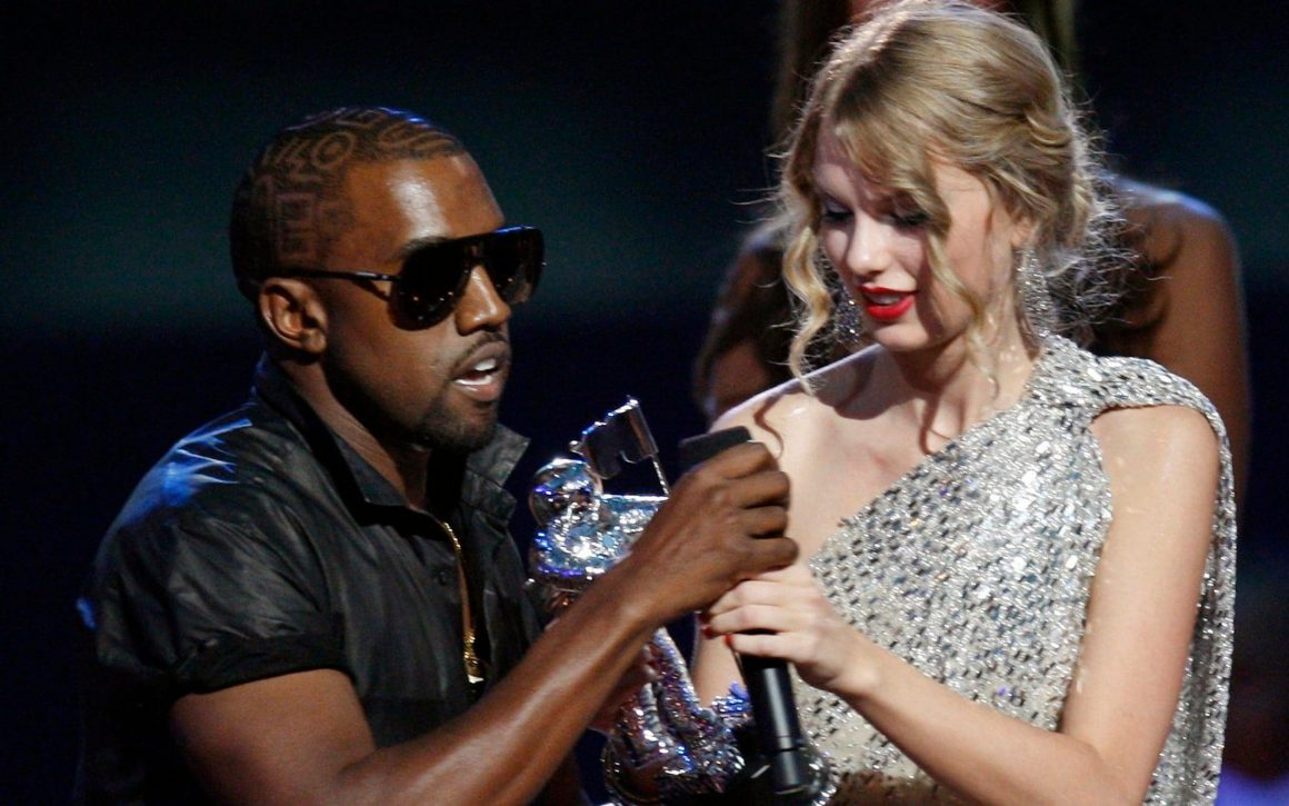 Taylor Swift and Kanye West leak call famous