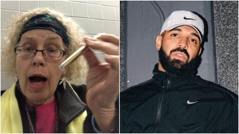 Photo of Drake Goes Live On Instagram With Dabbing Granny, Talks New Album
