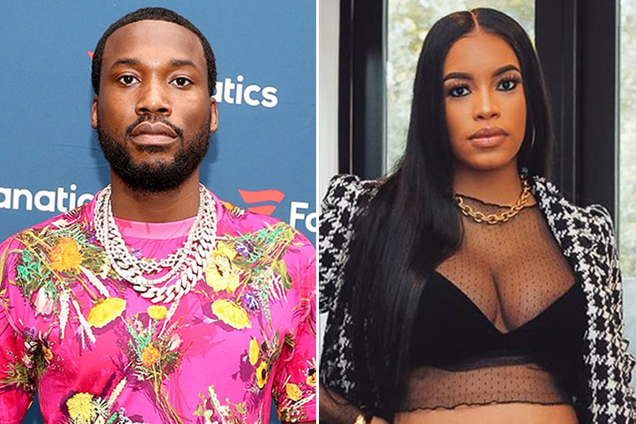 Meek Mill & Milan Harris split