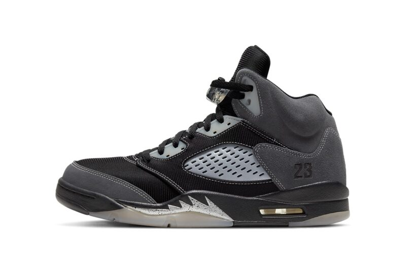 Air Jordan 5 Anthracite