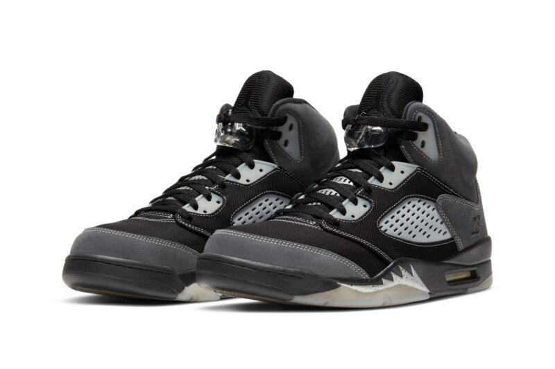 Air Jordan 5 Anthracite release